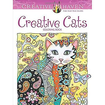 Kreative Oase kreativen Katzen Malbuch (kreative Oase Malbücher)