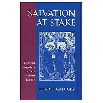 Salvação em jogo: martírio cristão em Early Modern Europe (estudos históricos de Harvard)