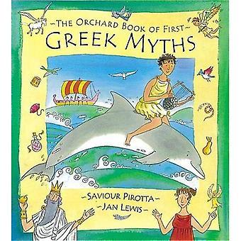 Het boek van de boomgaard van eerste Griekse mythen (Orchard mythen)