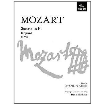 Mozart-Sonate in F K. 533 (S. Signatur)