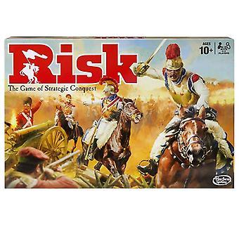 Hasbro Risiko Strategie Brettspiel - umfasst 300 Figuren