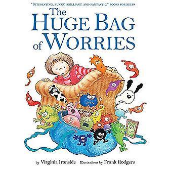 De enorme tas van het zorgen [Board boek]