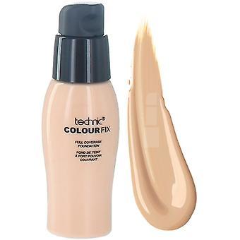 Technic Colour Fix Full Coverage Liquid Foundation ~ Cinnamon