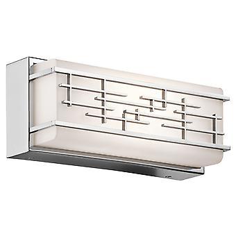 Elstead - Small Wall Light - Chrome Finish - KL/ZOLON/S BATH