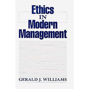 Éthique en gestion moderne par Williams & J. Gerald
