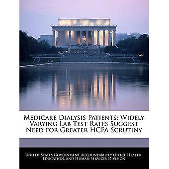 Medicare dialysepatiënten zeer uiteenlopende Lab Test tarieven suggereren behoefte aan meer controle van de HCFA door de Verenigde Staten regering verantwoording