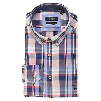 BAILEYS GIORDANO Skjorte 917304 blå og rosa