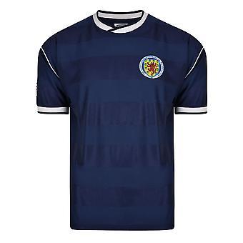 Score Draw Scotland 1986 Retro Football Shirt