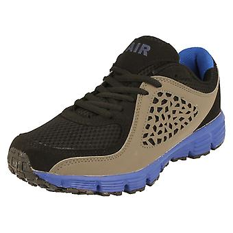 Mens AirTech Lace Up Trainers - Frontier