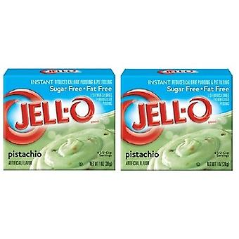 Jello Sugar gratis pistache Instant pudding & Pie vullen Mix 2 pack