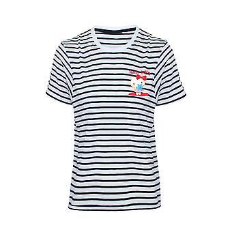 T-shirt rayé Hello Kitty pour femmes