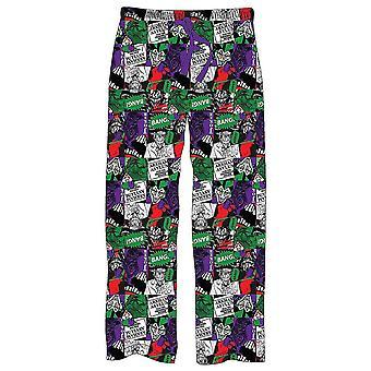 男子蝙蝠侠小丑休息室裤子