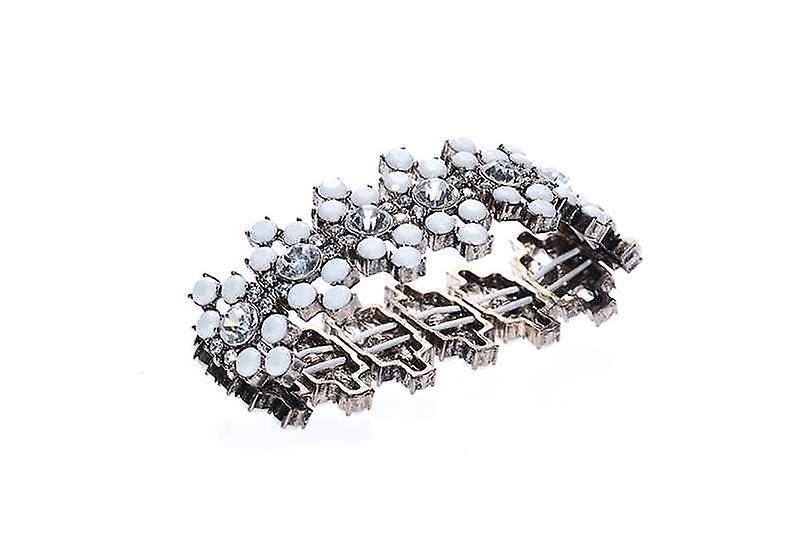 Wide Boho Stretch Nouveau Bangle Bracelet