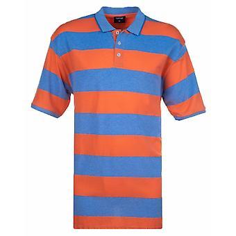 ESPIONAGE Espionage Fashion Stripe Polo