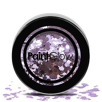 Paintglow Chunky Glitter Shaker 3g Gesicht Körper Make-up Festival Karneval