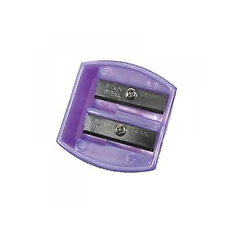 Body Collection Duo Cosmetic Pencil Sharpener ~ Purple