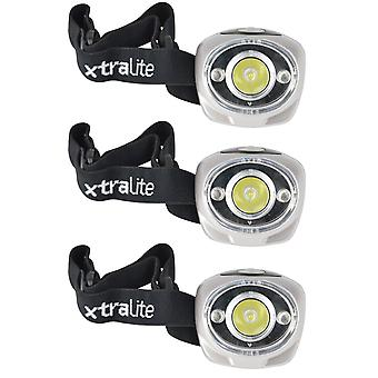Xtralite LED Head Torch Rechargeable Waterproof Adjustable Safety Flash Light
