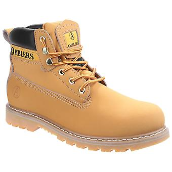 Amblers Mens Tavistock Boot Honey