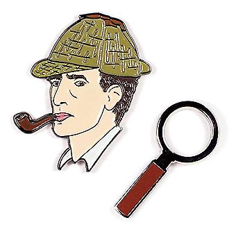 Pin Set - Holmes & Magnifying Glass New 5307