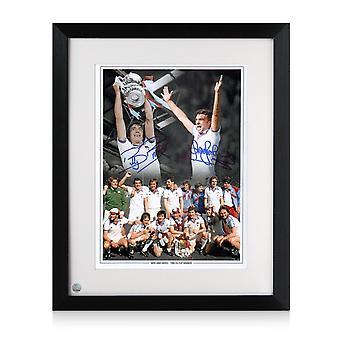 Trevor Brooking And Billy Bonds Signed West Ham Photo: 1980 FA Cup Final. Framed