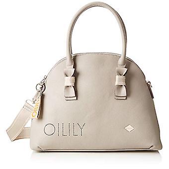 Oilily Airy Handbag Lhz - Grey Woman Folder (Light Grey)) 15.0x28.0x38.0 cm (B x H T)