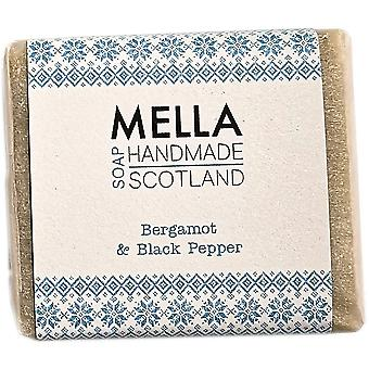 Bergamot & Black Pepper Soap Bar by Mella Handmade Soaps Shetland