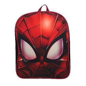 Marvel Spiderman Through My Eyes Red Children's Backpack