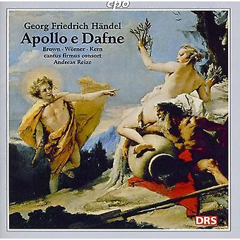 G.F. Handel - Handel: Apollo E Dafne [CD] USA import