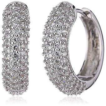 Pasionist 602332 - Women's earrings with cubic zirconia - sterling silver 925 - 30 mm