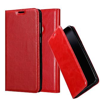 Custodia Cadorabo per la copertura per caso n. 11 - Custodia del telefono con chiusura magnetica, funzione Stand e custodia per scheda – Case Cover Case Case Case Case Folding Style