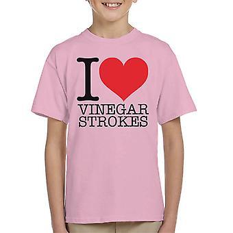 UK Drag Race I Heart Vinegar Strokes Kid's T-Shirt