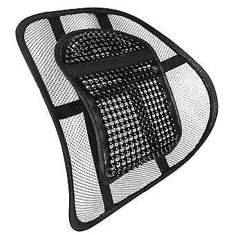 Sentik stoel rugondersteuning stoel zitten strak recht met elastische positionering riem en Mesh lumbale Grill