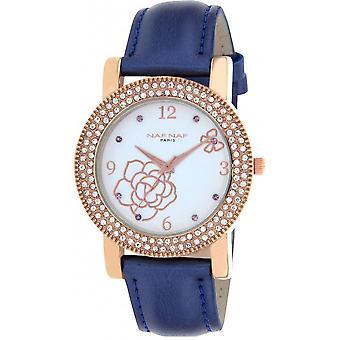 Naf Naf N10962-808 - watch Quartz leather blue woman