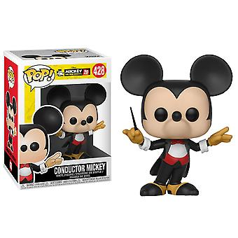Mickey Mouse 90th Conductor Mickey Pop! Vinyl