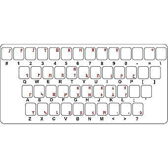 Sticker Sticker Keyboard Alphabet Computer Rune Anglo Saxonne Futhark