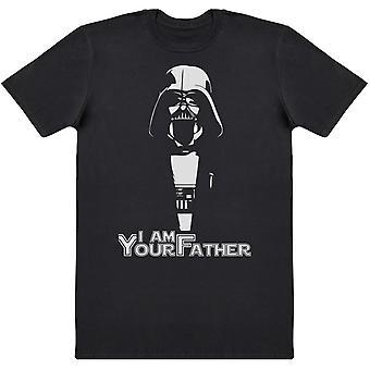 I Am Your Father Darth Vader Motif - Mens T-Shirt