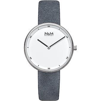 M & M Germany M11955-923 Minutes Ladies Watch