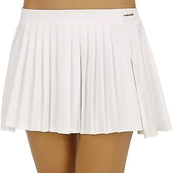 HEAD Womens Performance Couture Tennis Sports Jupe légère Skort - Blanc
