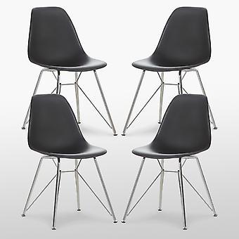 Valentina Dining Chair - Chrome Edition