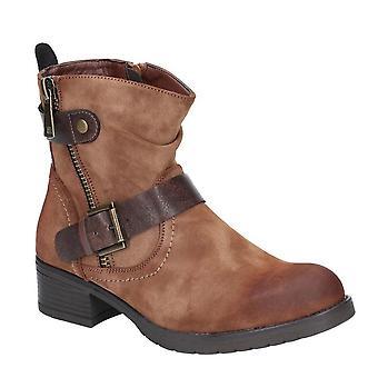 Divaz Womens/Ladies Jett Zip Up Boot