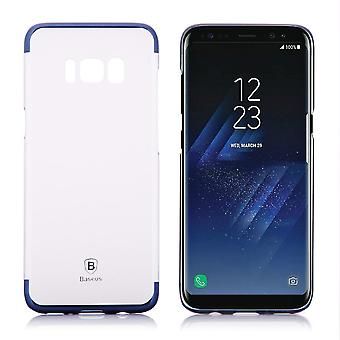 Hull For Samsung Galaxy S8 Transparent Contour Blue