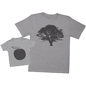 Tree And Apple - Mens T Shirt & Baby T-Shirt