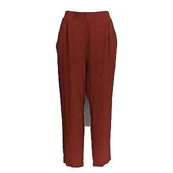 ASOS Women's Pants Stretch Knit Jogger Style Brown