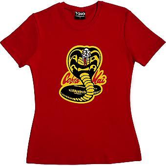 Cobra Kai Red Femme-apos;t-shirt Cobra Kai Red