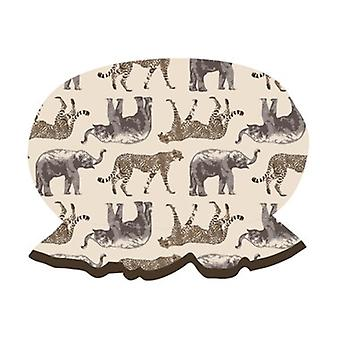 Danielle Wild & Wonder Safari Print Shower Cap