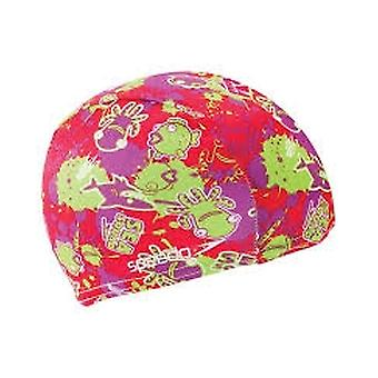 Speedo Sea Squad Junior polyester Swim cap-rosa