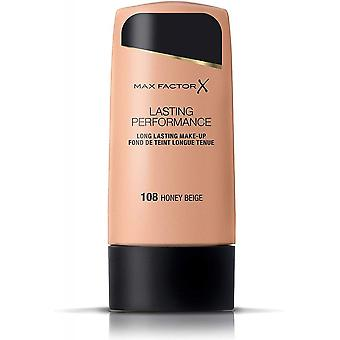 Max Factor 2 X Max Factor Lasting Performance Foundation - Honey Beige 108