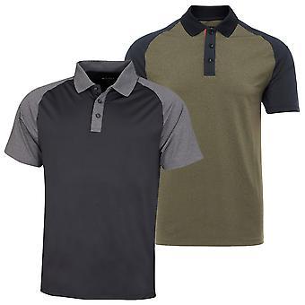 Wolsey Mens Block Colour Lightweight Golf Polo Shirt