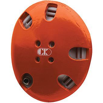 حرص كليف E58 التوقيع المصارعة القبعات-برتقالي