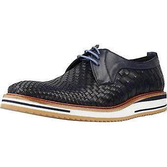 Angel Infantes Zapatos De Vestir 04054a Color Navy
